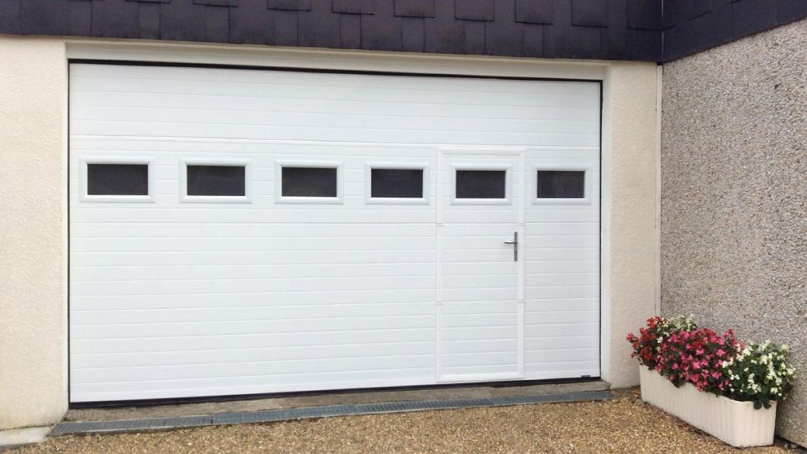 Portes de garage sectionnelles avignon carpentras orange vaucluse - Porte garage sur mesure ...
