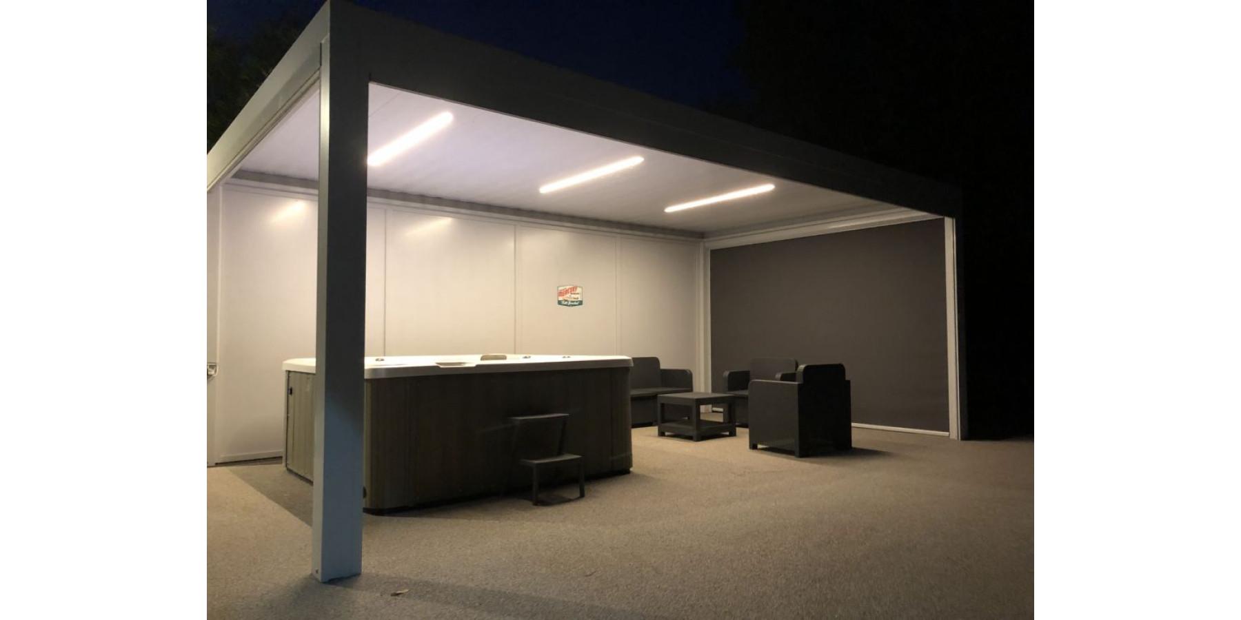 Alu Design Vaison La Romaine pergola bioclimatique p180 à avignon, carpentras, orange